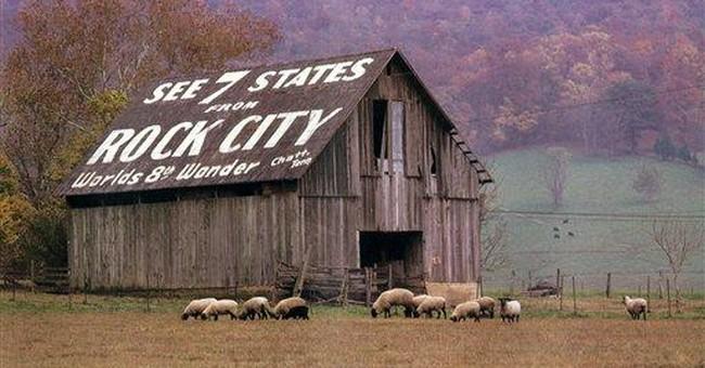 Rock City near Chattanooga celebrates 80 years