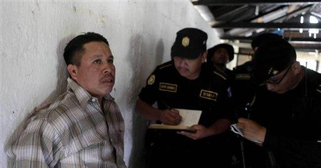 Guatemala detains 8 after army outpost takeover