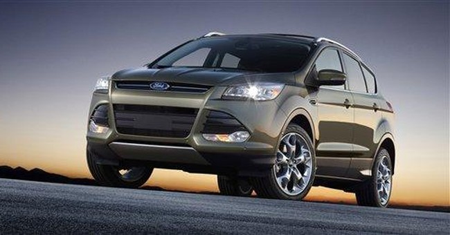 2013 Escape: Ford's compact SUV goes lux