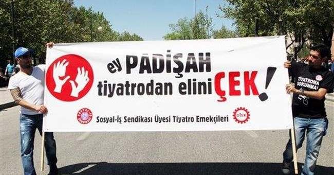 Turkey arts under pressure from conservative gov't
