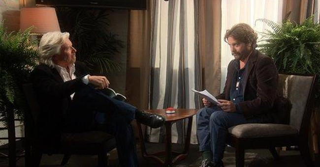 Galifianakis' series makes TV debut, ferns in tow