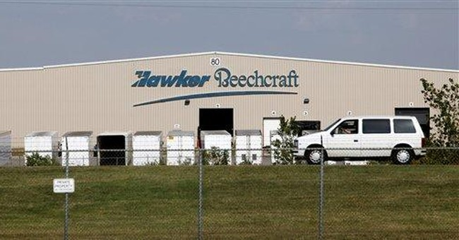 Hawker Beechcraft files for bankruptcy protection