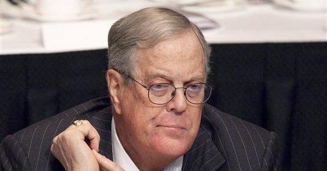 Koch gives Smithsonian $35M for new dinosaur hall