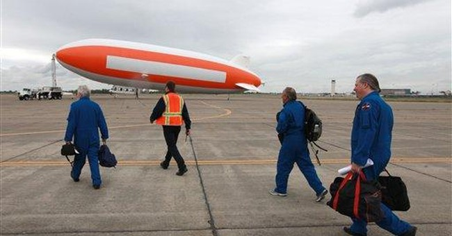 Scientists use airship to look for meteorites