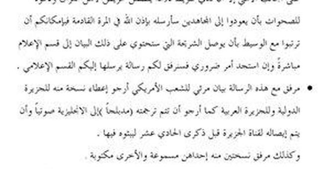 US uses bin Laden letters to degrade al-Qaida