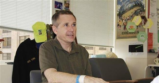 US Sen. Kirk released from rehabilitation center