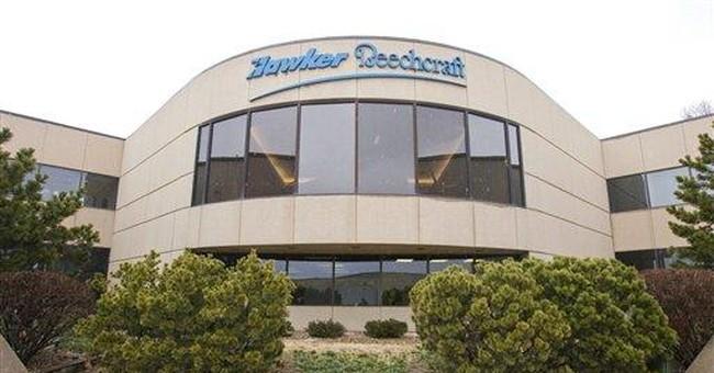 Debt, down market drove plane maker to bankruptcy