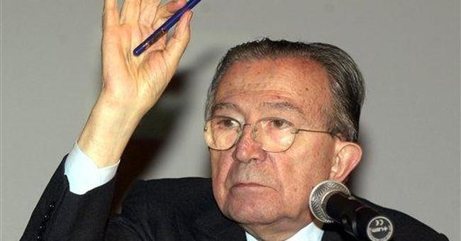 Italian ex-premier Andreotti hospitalized