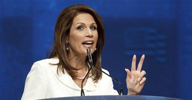 Rep. Bachmann endorses Romney for president