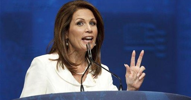 Rep. Bachmann endorses Romney for president