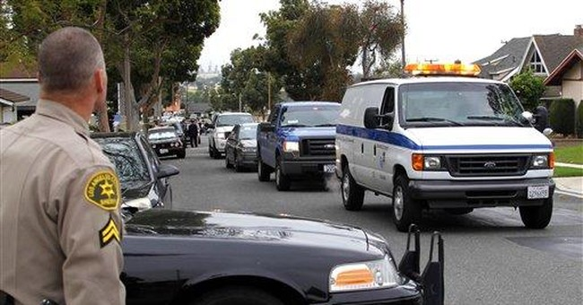 Calif. authorities: Federal agent slain by son