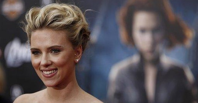 Johansson ready to don super suit for Widow story