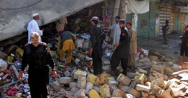 Officials: US drone strike kills 8 in Pakistan