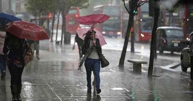 It's raining, again: Britain endures damp drought