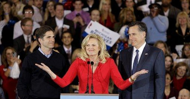 Romney is a grandfather again