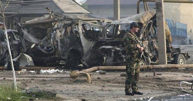 Dagestan bombs shadow Putin's return to presidency