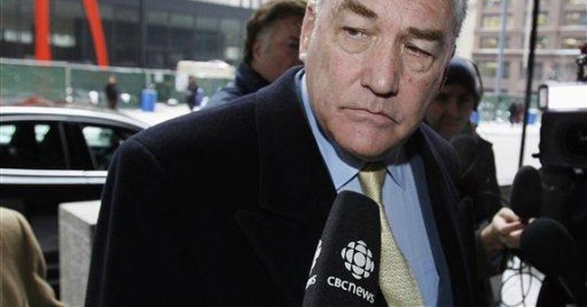 Ex-media mogul Conrad Black back in Canada