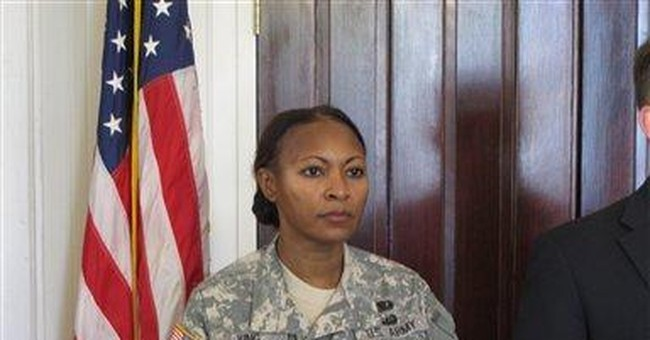 Female leader of Army drill sergeants back in job