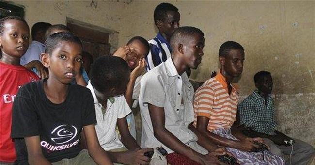 New rage keeps Somali boys off street: video games