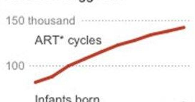 Study ties fertility treatment, birth defect risk