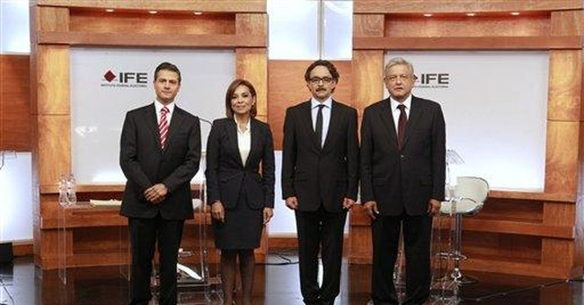 Mexican front-runner fends off debate attacks