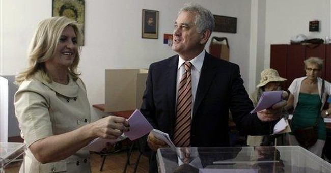 Runoff expected in Serbian presidential race