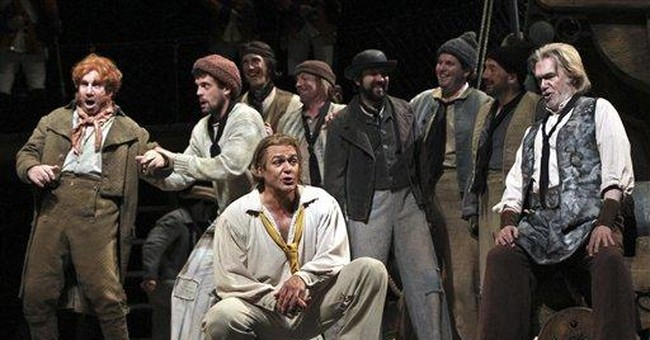 Rare Met revival of Britten's shipboard opera