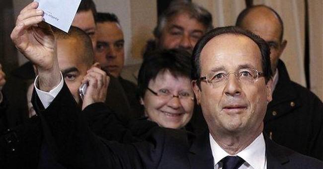 Obama calls new French President-elect Hollande
