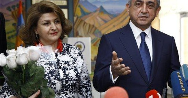 Armenian president's party wins parliamentary vote