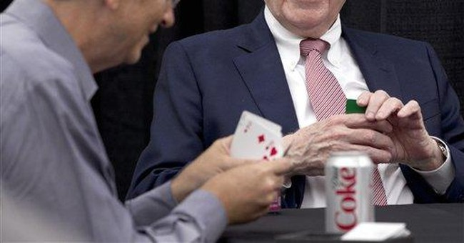 Buffett says investors shouldn't act on headlines