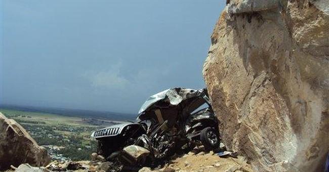 Boulder falls on car, kills 6 pilgrims in Vietnam