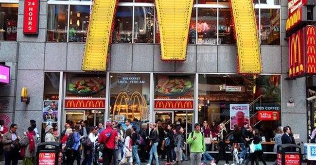 McDonald's April sales rise but miss expectations