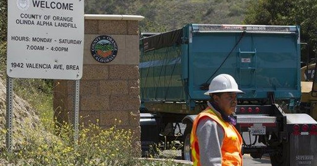 Landfill search for children turns up nothing