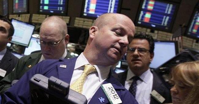 Turmoil in Europe pushes stocks lower in US