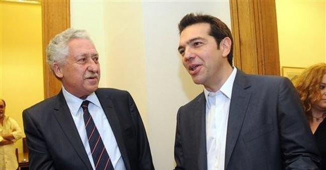Left-wing leader rejects Greek austerity pledge