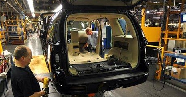Ford to boost factory output by 40,000 vehicles