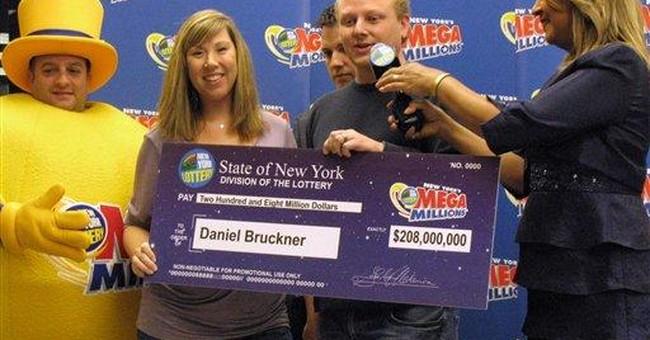 Financial analyst wins $208M lottery jackpot in NY