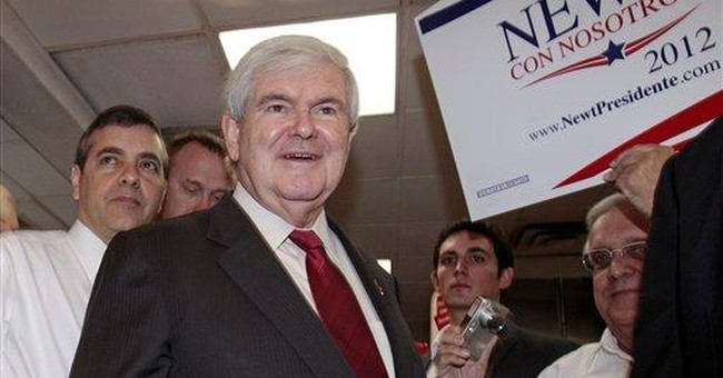 Gingrich criticizes outside group supporting him