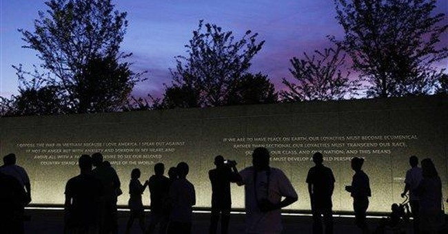 Report: Quote on MLK memorial will be changed