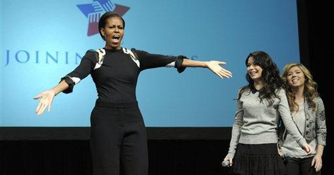 Michelle Obama 'random dances' at  Va. appearance