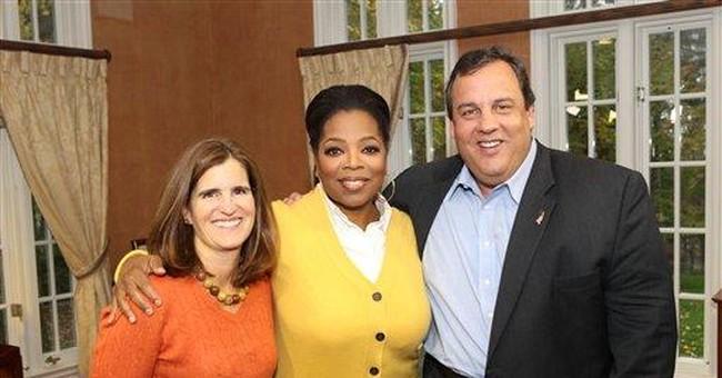 Christie, Winfrey talk weight, love, politics