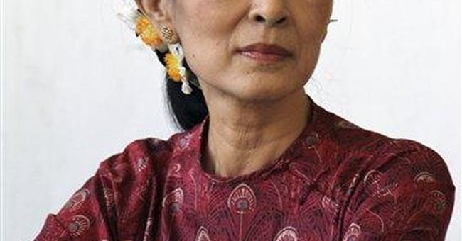 France plans Legion of Honor for Suu Kyi