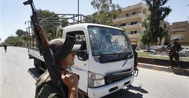 Blast near UN car shows fragility of Syria truce