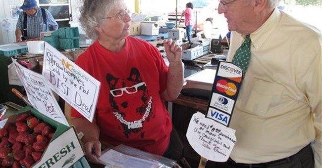 Farmers markets getting money to take food stamps