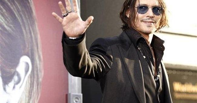 Depp, Burton bring 'Dark Shadows' comedy to London