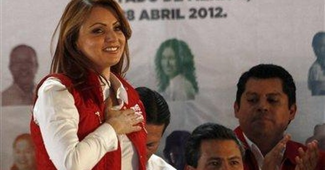 Actress wife in key role for Mexican front-runner