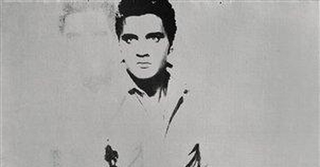 Warhol painting of Elvis heads to auction in NY