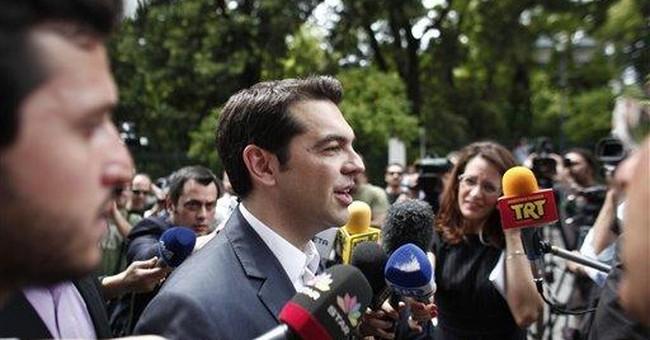 Greek left-wing leader says coalition bid fails
