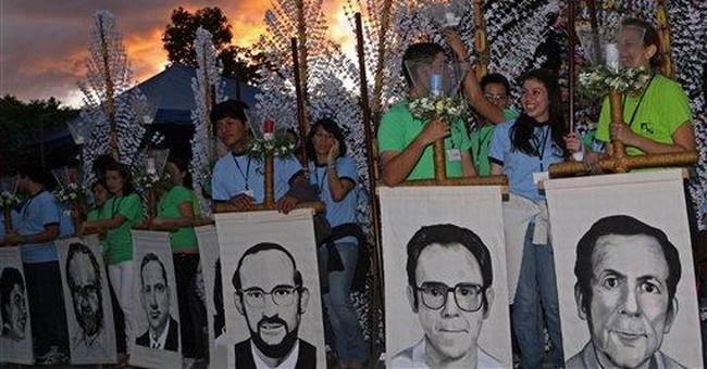 El Salvador won't extradite 1989 slaying suspects