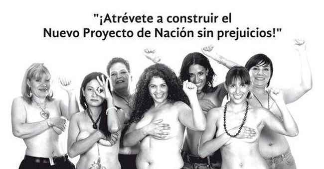 Mexican topless candidate sparks debate